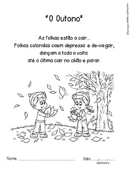 Fall song - Canção do Outono