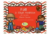 Fall 2-digit Addition (with regrouping) for centers, Scoot