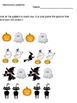 Fall themed ELA and Math worksheets-Kindergarten
