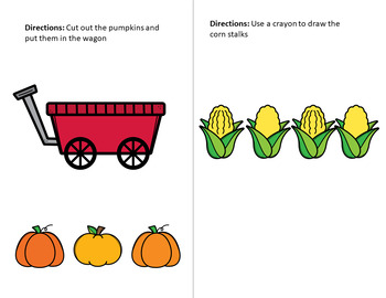Fall themed Fine Motor Journals for Preschool, early ...