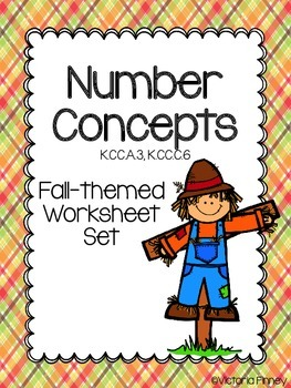 Fall Number Concepts Packet