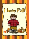 Fall Making Words Mini Book