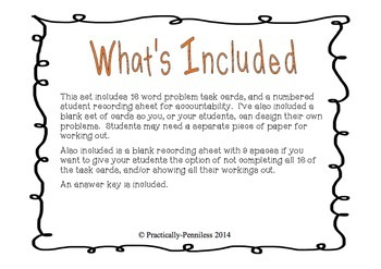 Fall themed math word problems, addition and subtraction