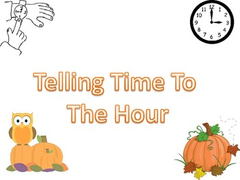Fall time to hour puzzles