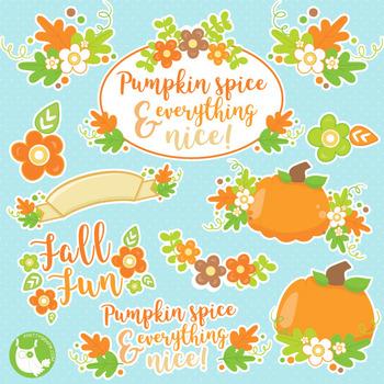 Fall treats clipart commercial use, vector graphics, digital  - CL1021