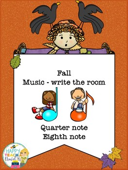 Fall rhythms - write the room