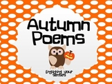 Fall/Autumn Poems- Mind Maps and Poems oh my!