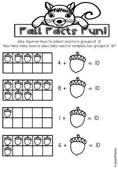 FallFacts to 10 Math {year2tastic}