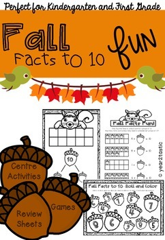 FallFacts to 10 Math {year2tastic}