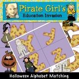 Fall/Halloween Alphabet Matching Game