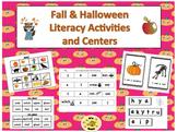 Fall/Halloween Literacy Activity Centers