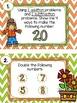 Fall/Halloween themed Task Cards