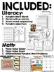 Fall Math and Literacy Pack