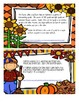 Fall/Thanksgiving Word Problem Task Cards with QR codes