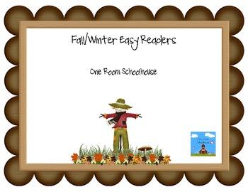 Fall/Winter Easy Readers