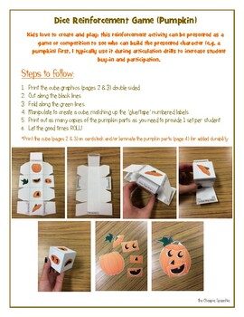 Fall_Halloween_Build Your Own Pumpkin Dice Game