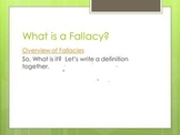 Fallacies of Argument Power Point with Links to Video Examples