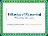 Fallacies of Reasoning PowerPoint - Common Core Tool!