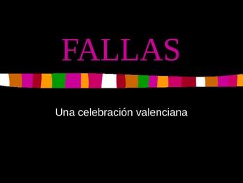 Fallas PPT - Spain celebration of Fallas