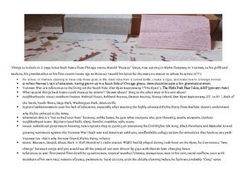 Fallen Angels novel - Letter Writing Extension