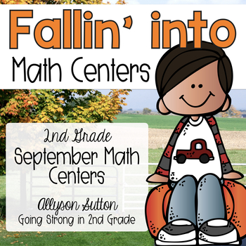 Fallin' Into Math Centers - September CCSS Aligned Math Ce