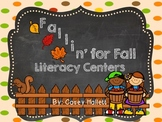 Fallin' for Fall Literacy Centers {10 Centers, Emergent Reader, and more}