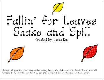 Fallin' for Leaves Shake and Spill