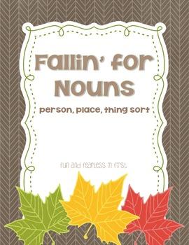Fallin' for Nouns