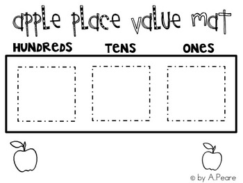 Place Value Game (Apples)