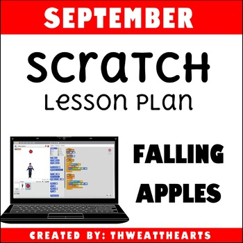 September Scratch Programming Lesson Plan - Falling Apples