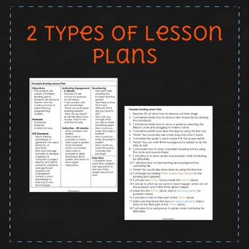 October Scratch Lesson Plan - Pumpkin Bowling