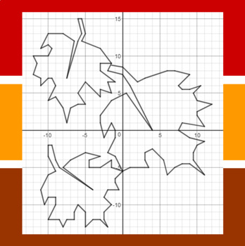 Falling Fall Leaves - A Math-Then-Graph Activity - Solve 30 Systems