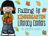 Falling For Kindergarten Literacy Centers