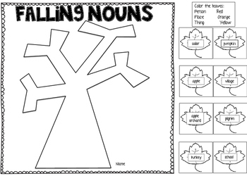 Falling For Nouns