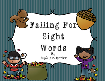 Falling For Sight Words