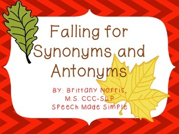 Falling For Synonyms and Antonyms