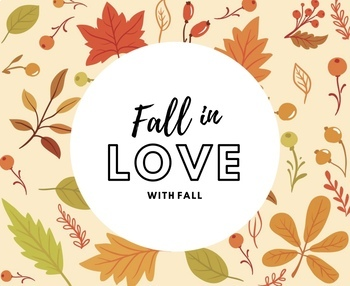 Falling In Love With Fall Activity Sheet
