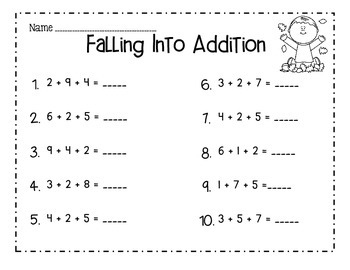 Falling Into Addition