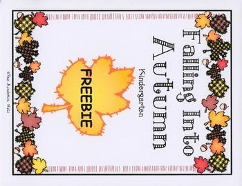 Falling Into Autumn Freebie