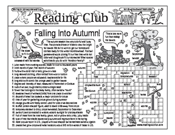 Falling Into Autumn Two-Page Activity Set