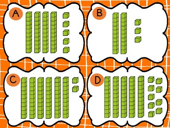 Falling Into Base Ten Blocks - Using tens and ones