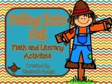 Falling Into Fall- Math and Literacy Activities
