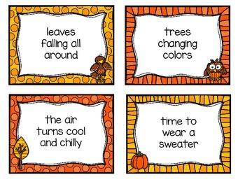 Falling Into Fluency - Autumn Themed Fluency Practice for Upper Grades