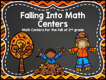 Falling Into Math Centers - Oct 2nd Grade