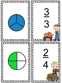 Fall Math Centers and Printable Activities