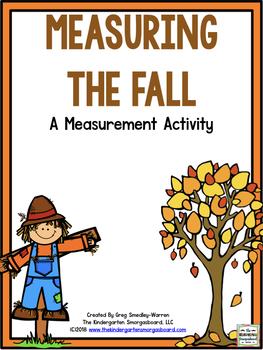Falling Into Measurement!  A Common Core Measurement Creation!