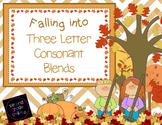 Three Letter Consonant Blends (Fall Theme)