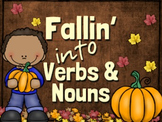Falling Into Verbs and Nouns
