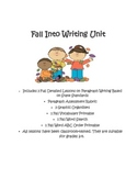 Falling Into Writing Paragraph Unit