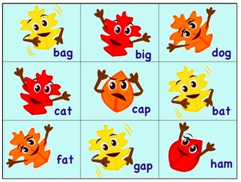 Fall Activities: Short & Long Vowel Word Sorts